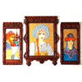 Glass - Framed Wall Pieces