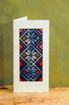 Palestinian Embroidered Greeting Card