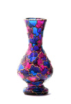 Footed Hourglass Vase