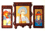 Russian Royalty (triptych)