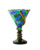 Martini Goblet with Snake